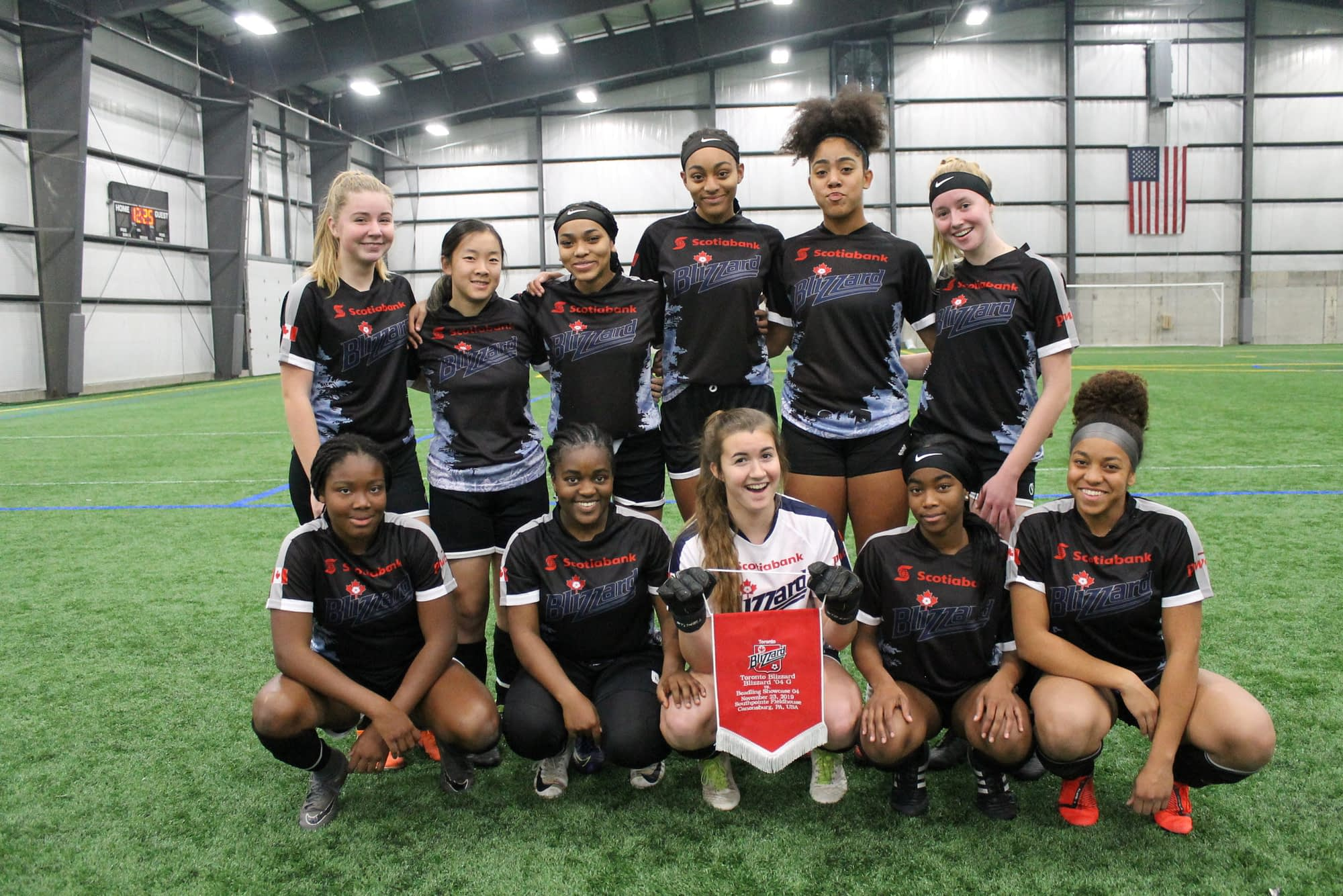 Great opening weekend of competition with Beadling SC in Pittsburgh – November 22-24th